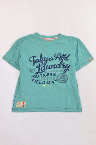 Unbranded Teal Tokyo Laundry T-shirt Boys 9-10 years