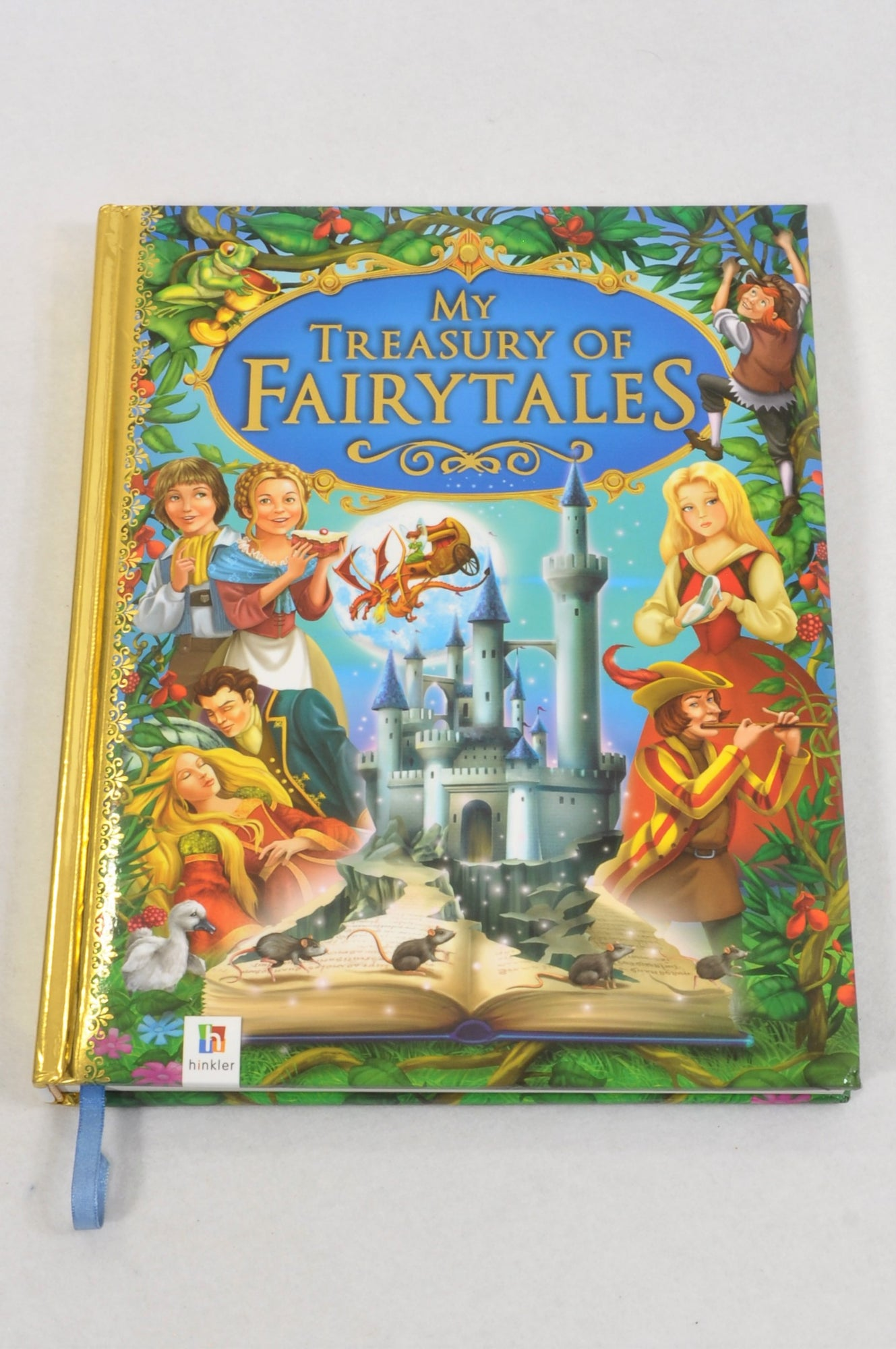 Unbranded My Treasury Of Fairy Tales Book Unisex All Ages