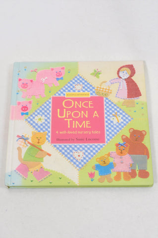 Unbranded Once Upon A Time Textured Fairytale Book Girls 1 to 10 years