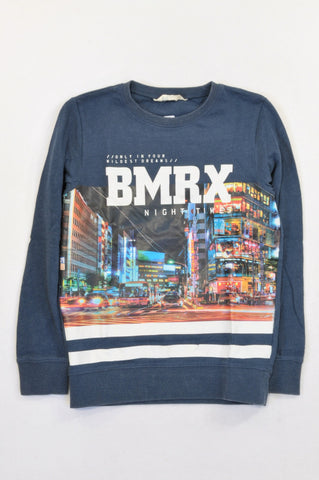 H&M Navy BMRX Night Time Top Boys 9-10 years
