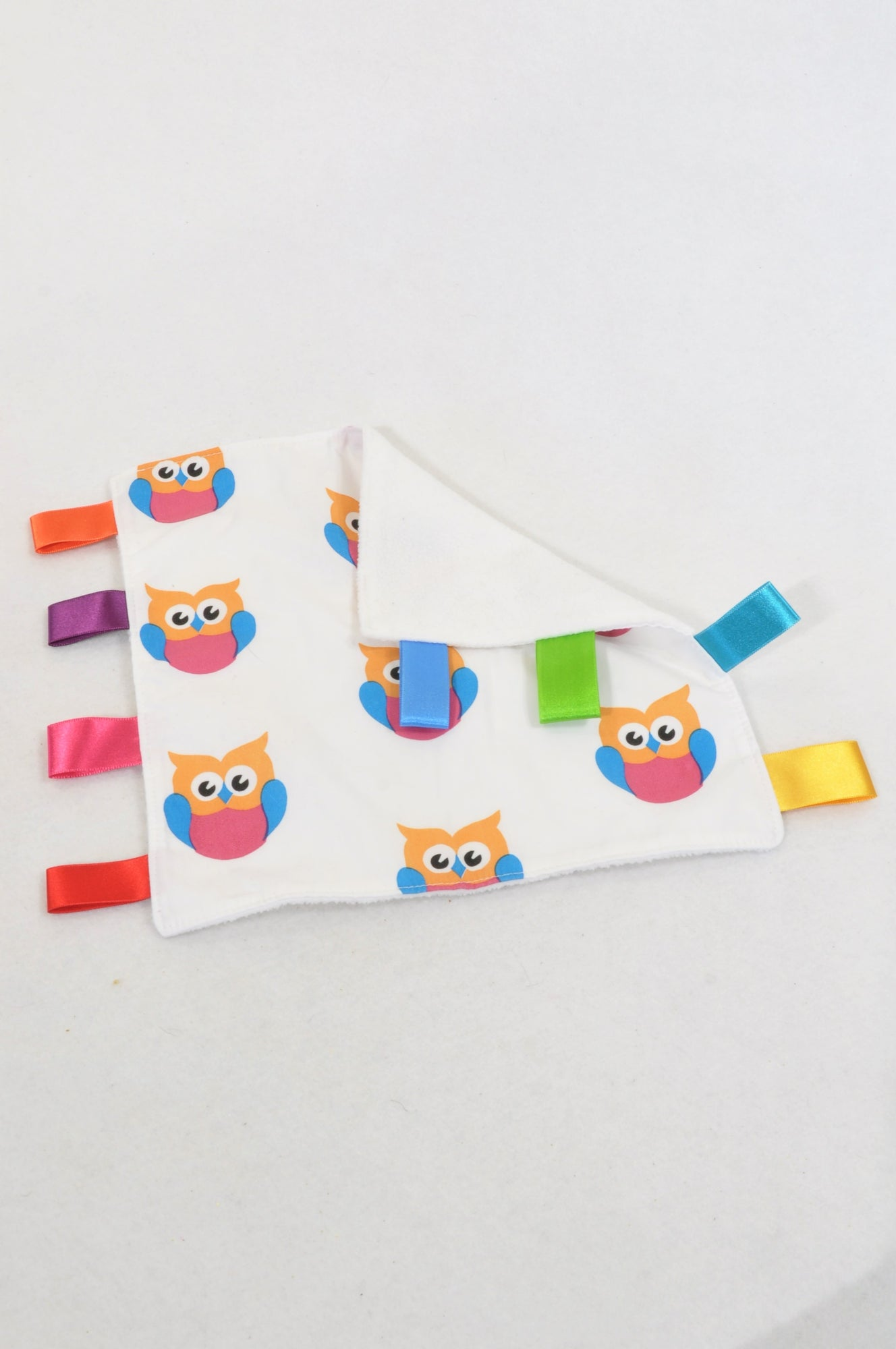 New Unbranded Pretty Owl Taglet Soother Unisex N-B to 2 years