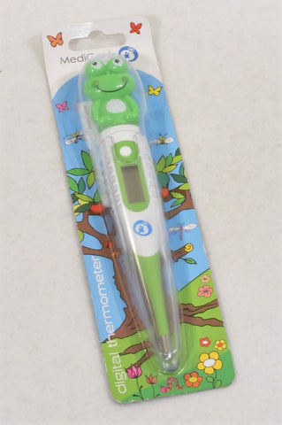 New Medi Genix Green Froggy Thermometer Unisex All Ages