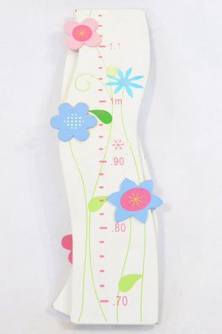 Unbranded Wooden Flower Measurement Wall Decor Girls All Ages