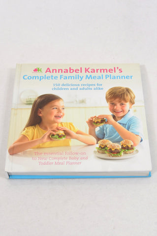 Unbranded Annabel Karmel's Family Meal Planner Parenting Book Unisex 6 months to 12 years