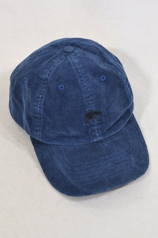 Element Navy Corduroy Bear Peak Hat Unisex 7-14 years