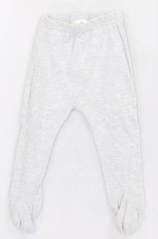 Pick 'n Pay Basic Grey Footed Leggings Girls 12-18 months