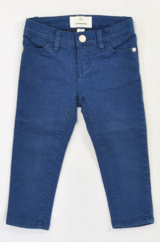 Country Road Basic Blue Skinny Jeans Girls 2-3 years