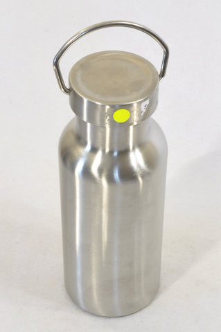 Klean Kanteen Brushed Silver Flask Unisex 3-16 years