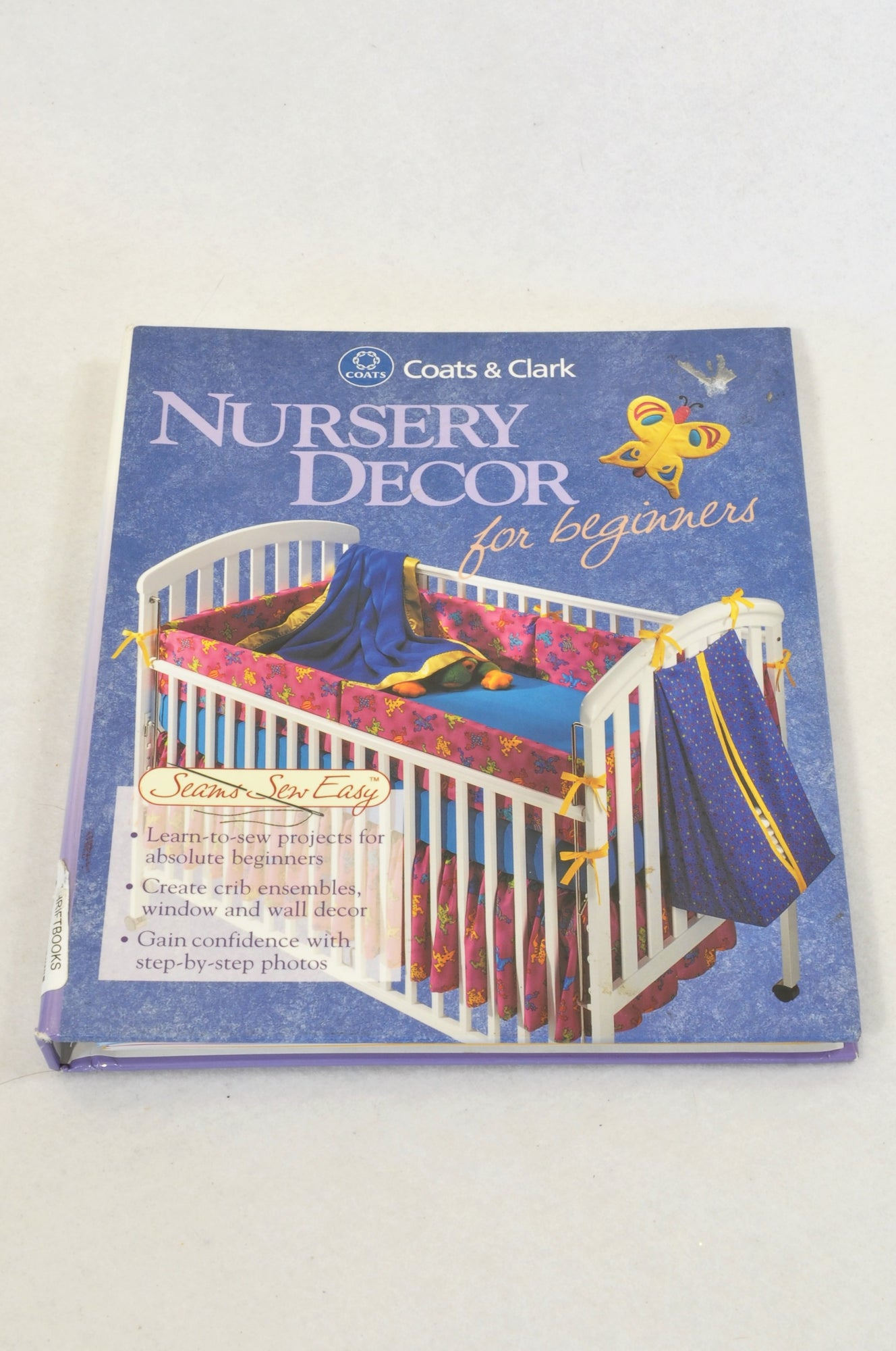 Coats & Clark Nursery Decor For Beginners Parenting Book Unisex All Ages