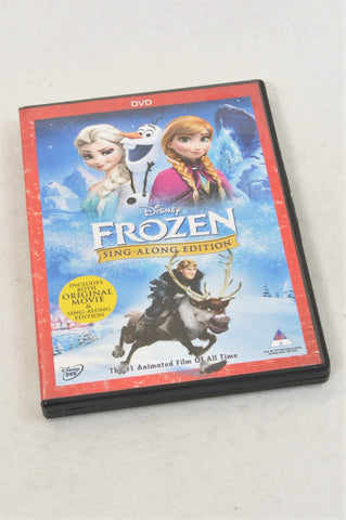Unbranded Frozen Sing Along Edition Kids DVD Unisex 2-6 years