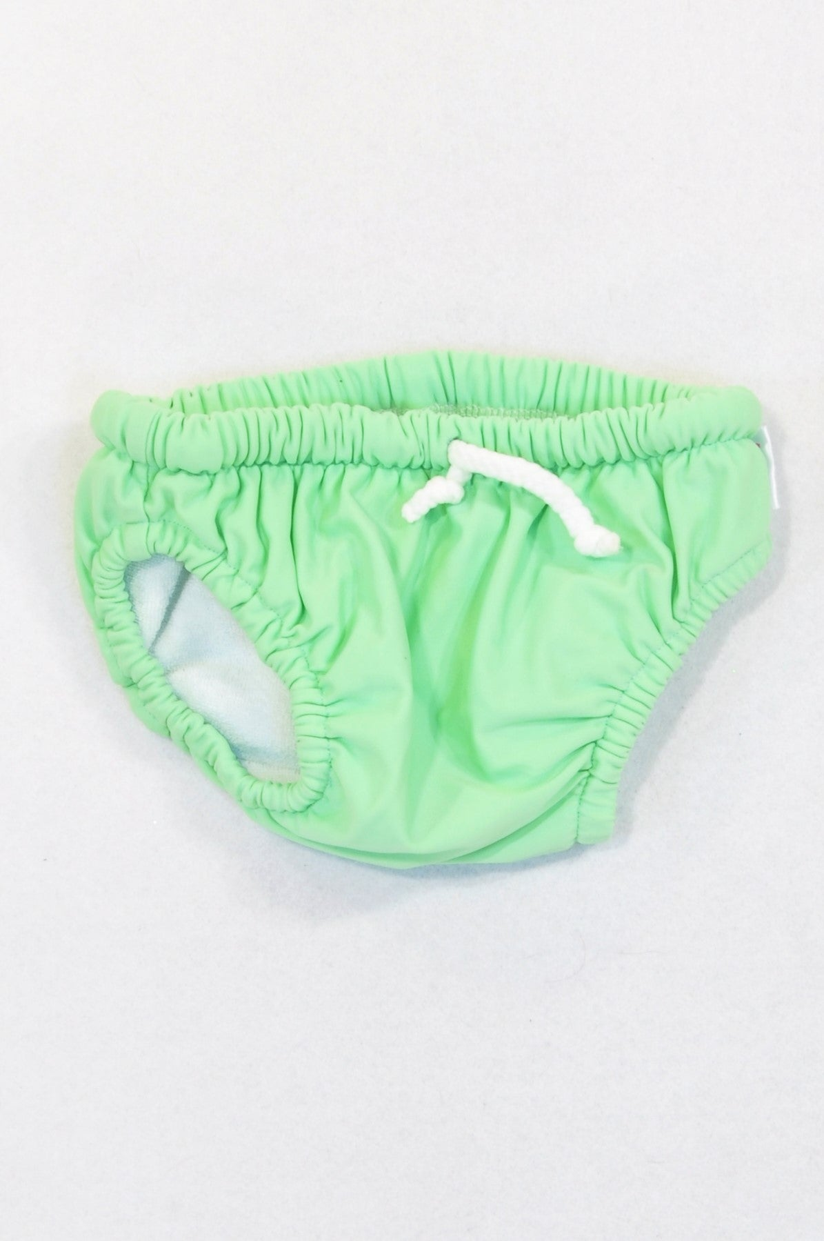 Tickle Basic Green Swim Nappy Boys 6-12 months