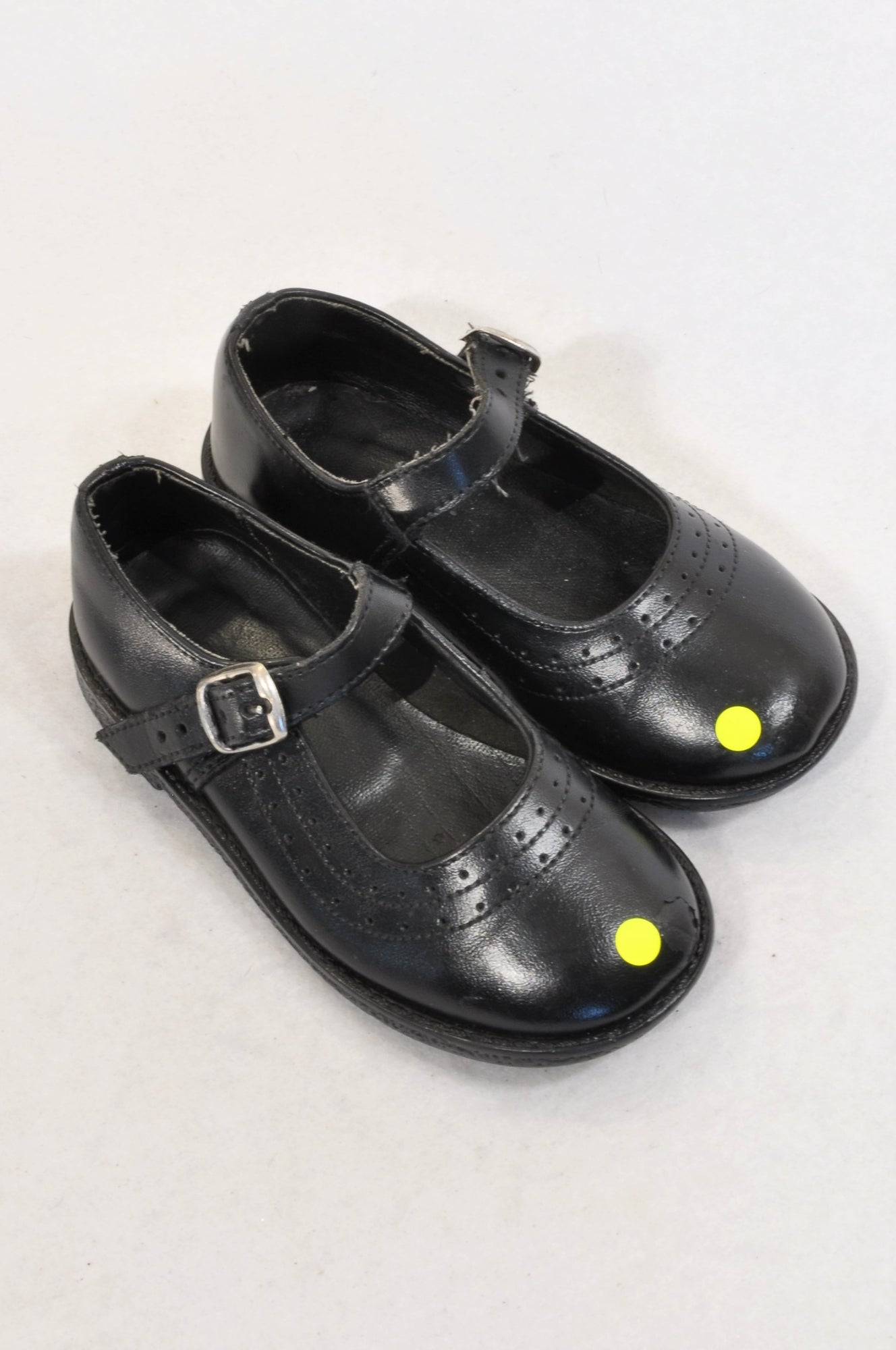 Unbranded Black Size 9 School Buckle Shoes Girls 3-4 years