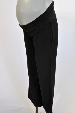 7d0fab15c0690 Cherrymelon Basic Black Office Maternity Pants Size 34