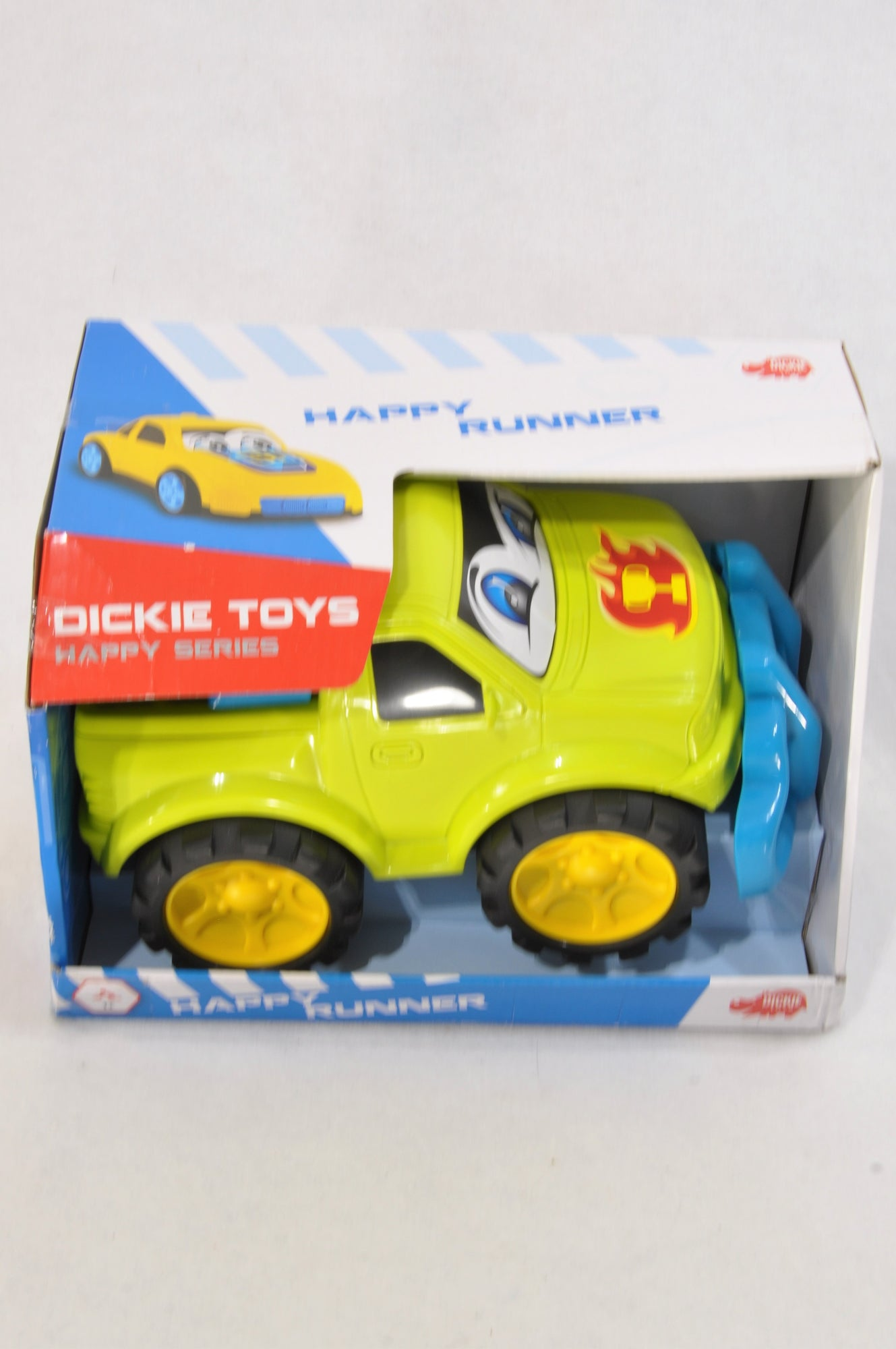 New Dickie Green & Blue Happy Runner Truck Toy Boys 1-3 years