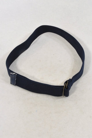 Unbranded Navy Adjustable Stretch Belt Boys 2-6 years