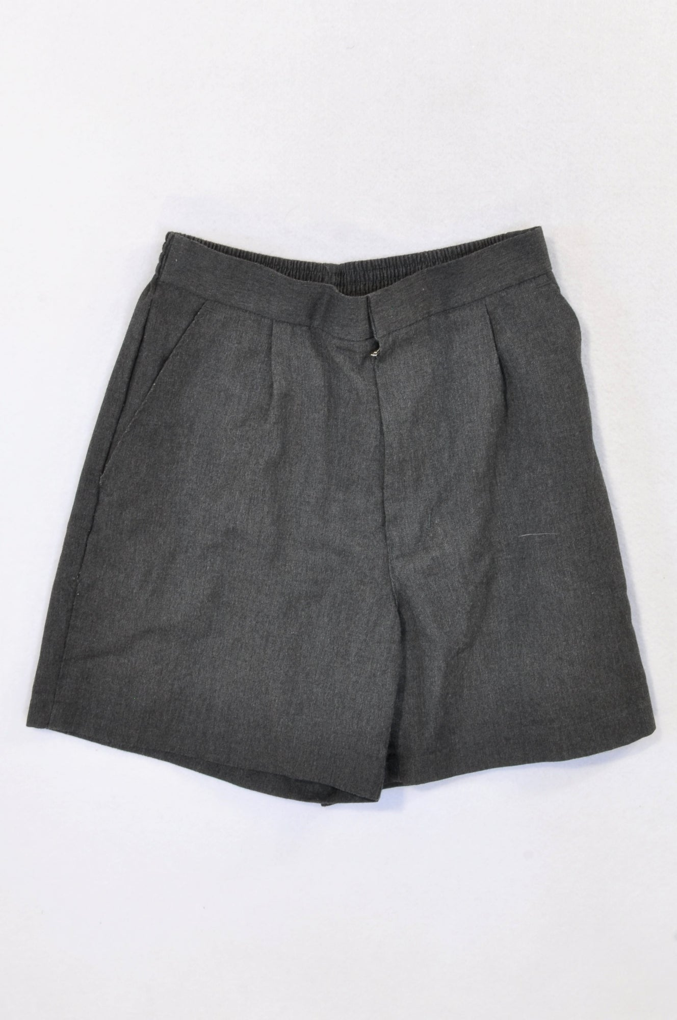 Class Act Basic Dark Grey School Shorts Boys 11-12 years