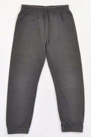 Woolworths Basic Dark Grey Track Pants Unisex 6-7 years