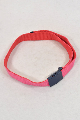 Unbranded Cerise Adjustable Belt Girls 4-10 years