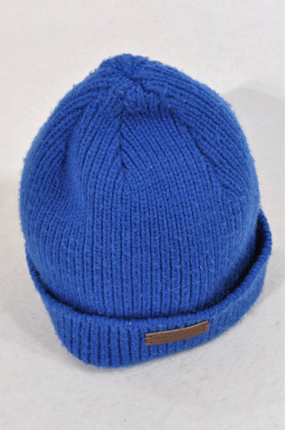 Woolworths Royal Blue Knit Beanie Unisex 6-8 years