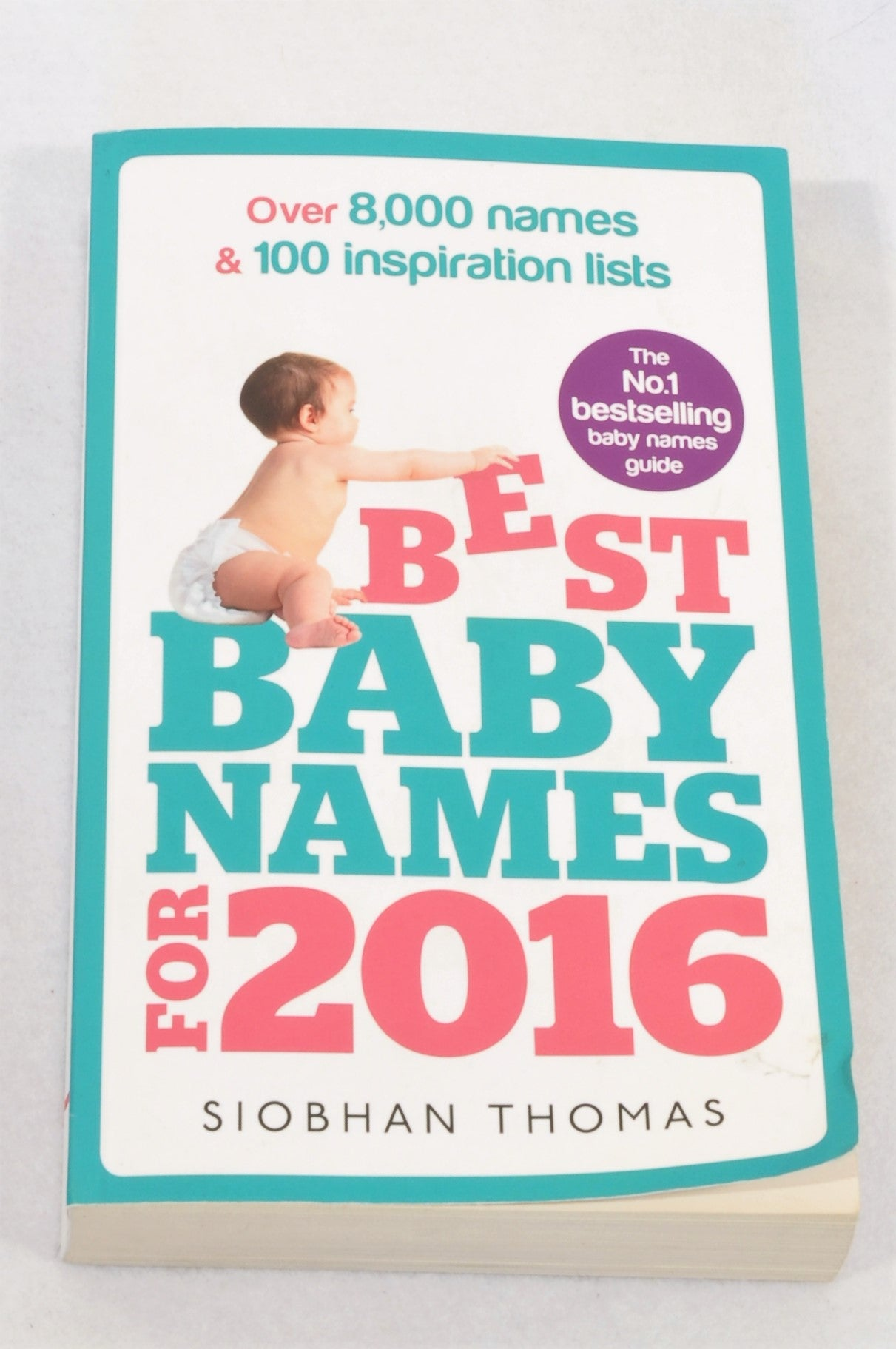 Unbranded Best Baby Names For 2016 Parenting Book Unisex N-B