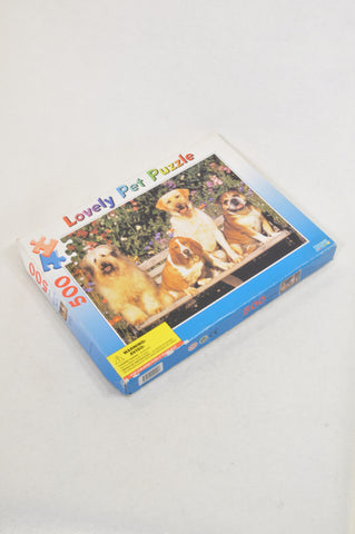 Unbranded 500 Pcs Lovely Pet Puzzle Unisex 7-14 years