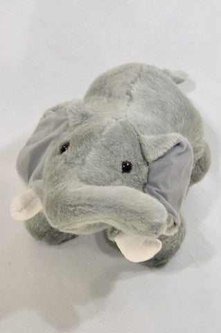 Animal Planet Grey Furry Elephant Soft Toy Unisex 1-10 years