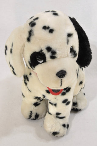 Unbranded Black & White Dalmation Soft Toy Unisex 1-10 years