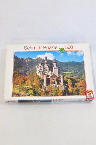Schmidt 500 Piece Autumn Castle Puzzle Unisex 7-14 years
