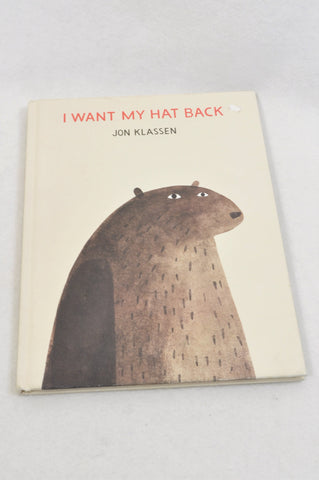 Unbranded I Want My Hat Back Book Unisex 2-6 years