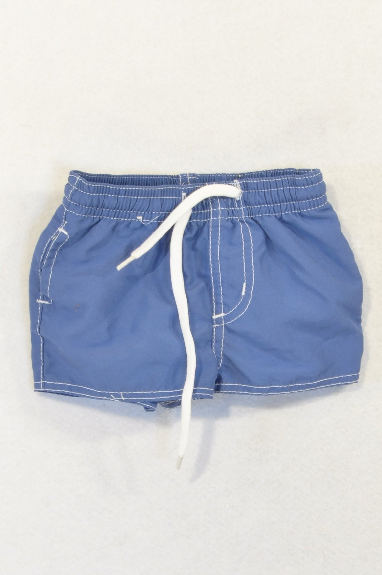 Next Soft Blue Lightweight Blue Shorts Boys 0-3 months