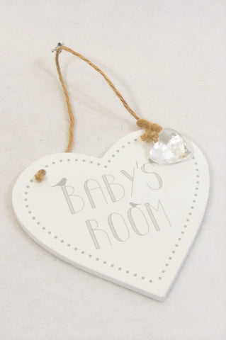 New Mr. Price Baby's Room Heart Decor Unisex N-B to 2 years