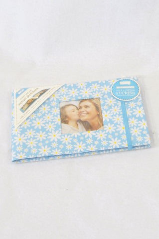 New Unbranded Blue Daisy Photo Album Unisex All Ages