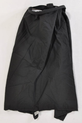 Little Mico Basic Black Lightweight Nursing Cover Unisex N-B to 2 years