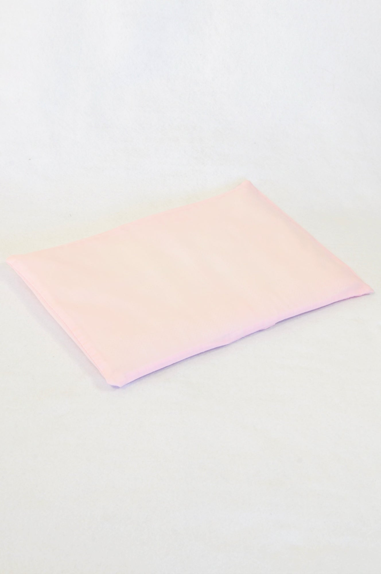 Cabbage Creek Pink Pillowcase & Breathable Baby Pillow Girls N-B to 1 year