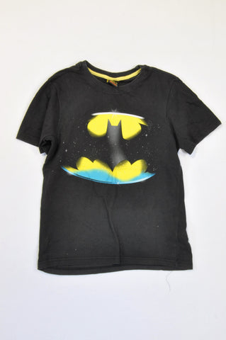Batman Black & Yellow T-shirt Boys 11-12 years