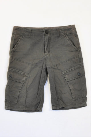 Mr. Price Basic Charcoal Cargo Shorts Boys 11-12 years
