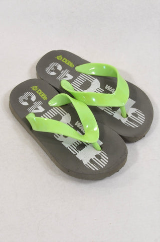 Ackermans Size 6 Olive & Green 43 Sandals Boys 3-4 years