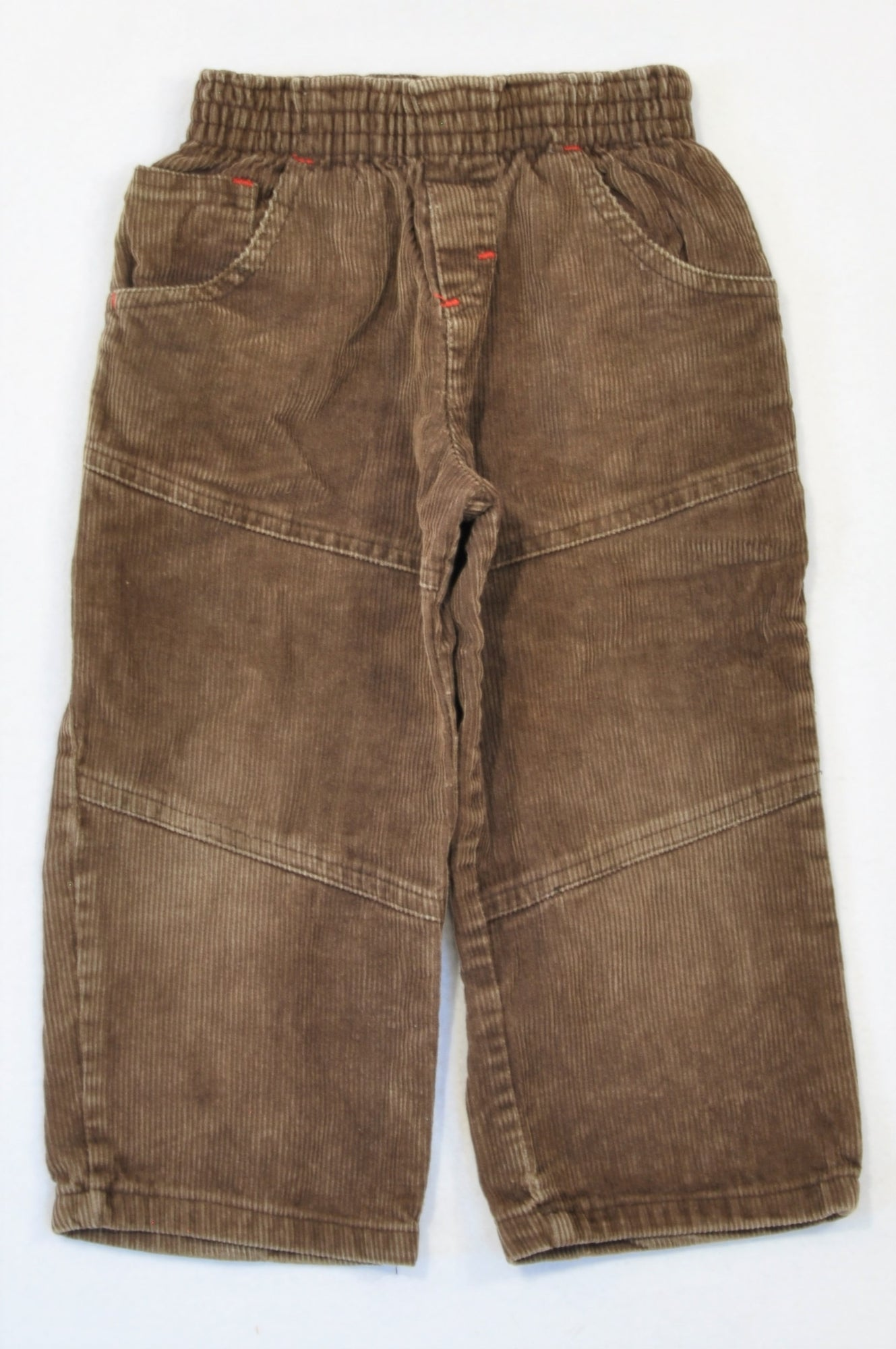 GE Brands Brown Corduroy Pants Boys 2-3 years