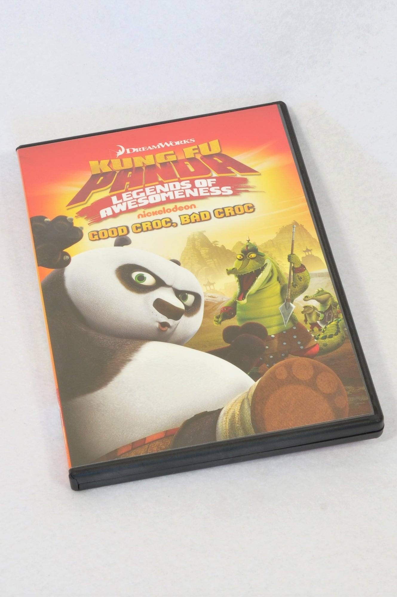 Dreamworks Kung Fu Panda Legends Of Awesomeness Kids DVD Unisex 3-10 years