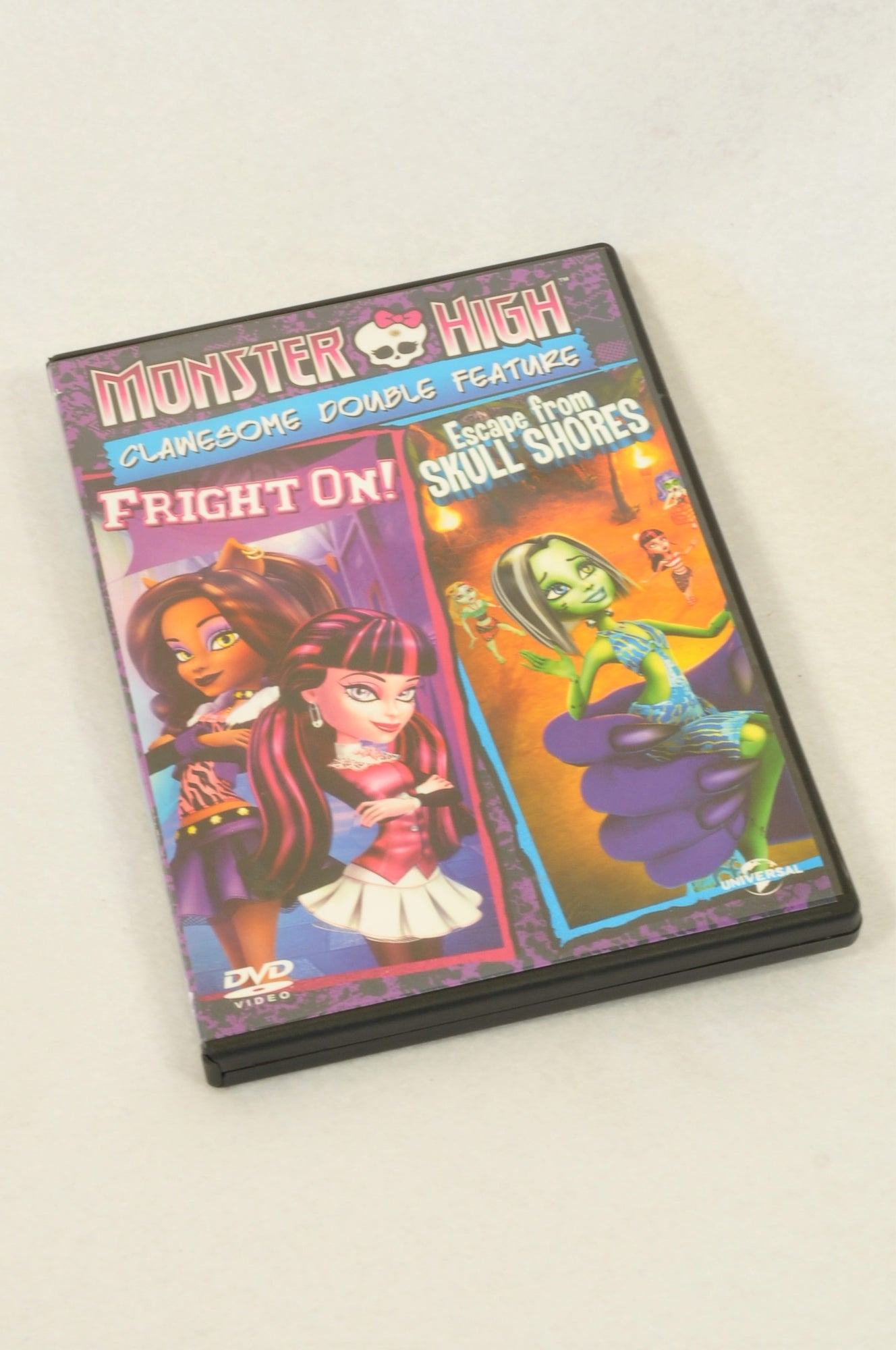 Unbranded Monster High Double Feature Kids DVD Girls 4-10 years