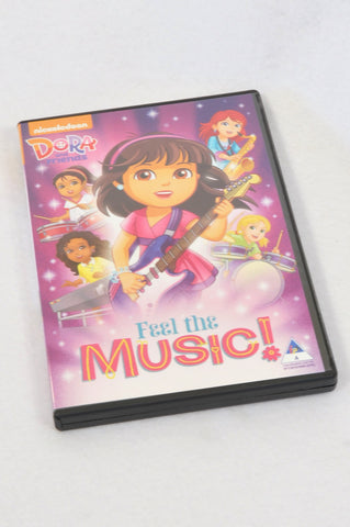 Nickelodeon Dora & Friends Feel The Music Kids DVD Unisex 3-10 years