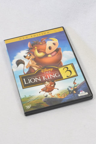 Disney The Lion King 3 Kids DVD Unisex 3-10 years