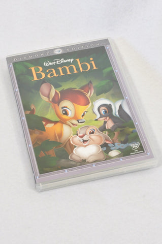 Disney Bambi Kids DVD Unisex 3-10 years