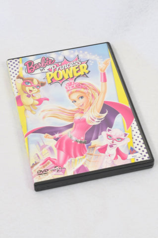 Barbie In Princess Power Kids DVD Unisex 3-10 years