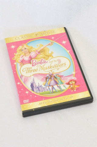 Barbie And The Three Musketeers Kids DVD Unisex 3-10 years