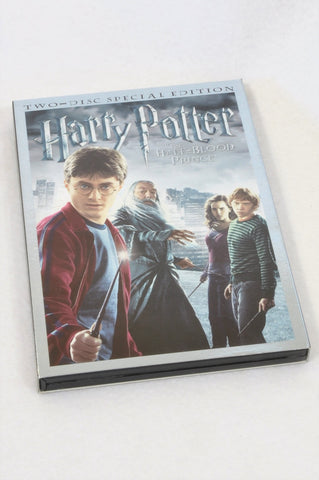Warner Bros. Harry Potter The Half Blood Prince Kids DVD Unisex 7-14 years