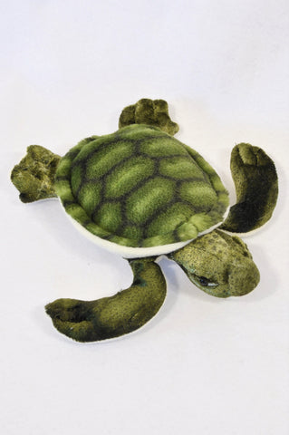 Unbranded Green Sea Turtle Soft Toy Unisex 3-10 years