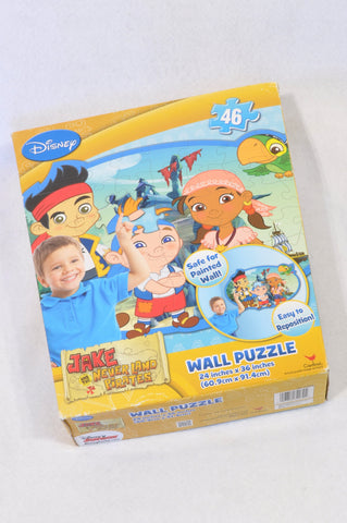 Disney 46 Pcs Jake & Neverland Pirates Wall Puzzle Unisex 2-6 years