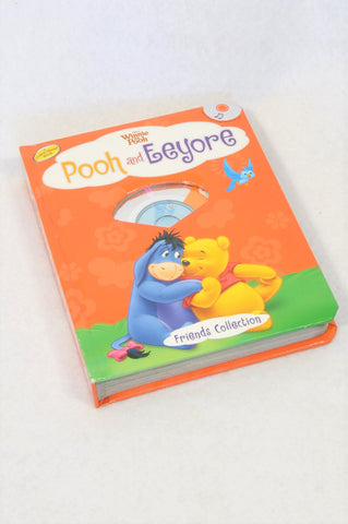 Disney Pooh & Eeyore Book & CD Unisex 18 months to 3 years