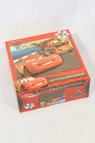 Disney 24 Pcs Cars Lenticular Puzzle Unisex 3-10 years